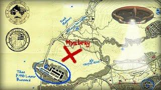Download Новая загадочная отметка на карте, FBI, Амфитеатр, НЛО, Жетон Омеги | Новости Тайн GTA V [#2] Video