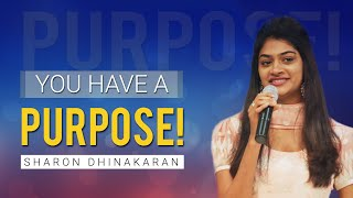 Download Finding Your Purpose (English - Hindi) | Sharon Dhinakaran Video