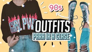Download OUTFITS QUE TE SACARAN DE APUROS /Back to school outfit 90s Video