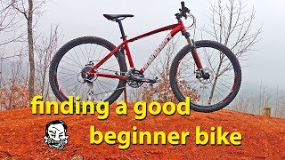 Download What's a good beginner bike? - Budget mountain bike Video