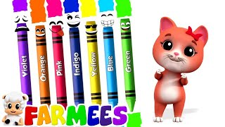 Download Crayons Color Song | Learning Videos & Songs For Babies | Kids Cartoon Video