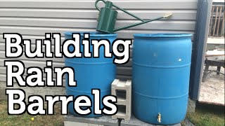 Download Installing a Rain Barrel for Beginners Video