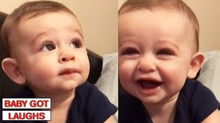 Download Funniest Babies of 2018 | Try Not To Laugh Challenge Video