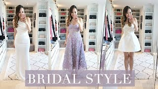 Download WHAT I'M WEARING FOR OUR WEDDING & BRIDAL FAVOURITES! Video