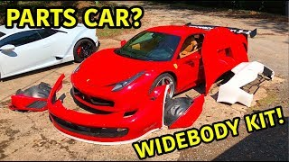 Download We Got Another Ferrari 458 For Parts!? Video