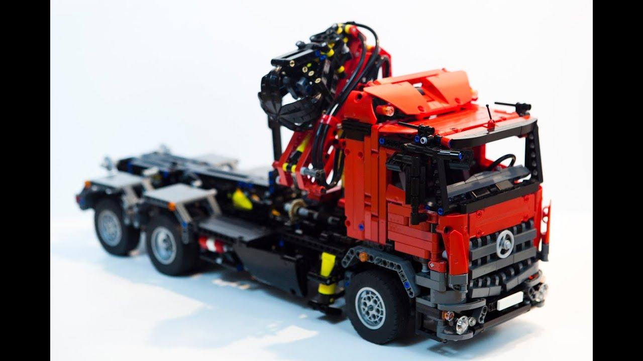 Stream Lego Technic Mercedes Arocs Hook Lift 119519 On Akefk # Lift Motorise Erard