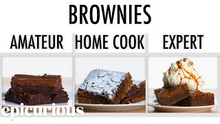 Download 4 Levels of Brownies: Amateur to Food Scientist | Epicurious Video