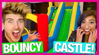 Download BOUNCY CASTLE IN MY HOUSE! w/TheGabbieShow Video
