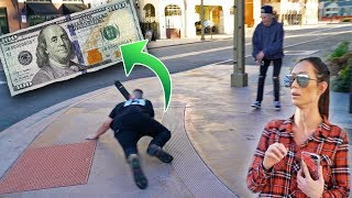 Download OFFERING PEOPLE $100 TO LAND SCOOTER TRICKS! Video