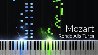 Download Alla Turca ″Turkish March″ (Sonata No.11, 3) - Wolfgang Amadeus Mozart [Piano Tutorial] (Synthesia) Video
