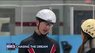 Download Chasing the Dream: Local former Olympian trains skaters Video