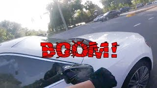 Download STUPID DRIVERS GOT SMASHED MIRRORS | EXTREMELY CRAZY, ANGRY PEOPLE vs BIKERS [Ep. #98] Video