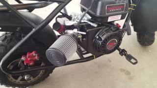 Download MBX10 MINI BIKE PREDATOR ENGINE SWAP Video