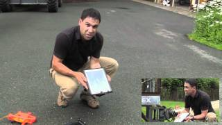 Download iPad Survives 60 foot drop onto concrete in G-Form case - Uncut Long Version Video