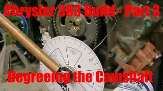Download Joe's Garage 383 Engine Rebuild Part 3 – Degreeing the Camshaft Video