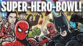 Download SUPER-HERO-BOWL! - TOON SANDWICH Video