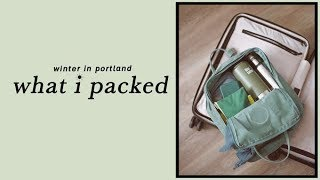 Download What I Packed For A Quick Trip to Portland | Alli Cherry Video