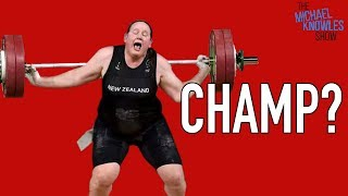 Download Women's Weightlifting Champ Is A Man Video