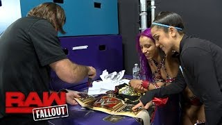 Download Sasha Banks gets her new Raw Women's Championship customized: Raw Fallout, Nov. 28, 2016 Video