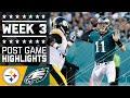 Download Steelers vs. Eagles   NFL Week 3 Game Highlights Video