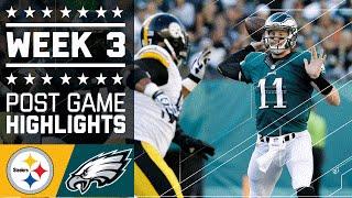 Download Steelers vs. Eagles | NFL Week 3 Game Highlights Video
