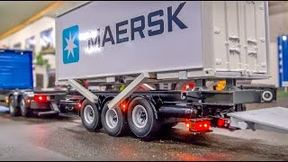 Download RC Container Truck & Trailer in incredible 1/32 scale! Video