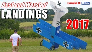 Download ③ BEST and WORST of ESSENTIAL RC LANDINGS 2017 ! SILKY SMOOTH AND SHOCKING ARRIVAL COMPILATION Video