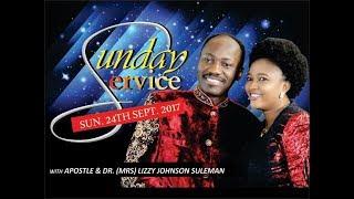 Download Sun. 24th Sept. Service LIVE Pt 2 - Apostle Johnson Suleman Video