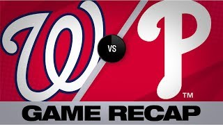 Download Soto's clutch homer lifts Nats to a 4-3 win | Nationals-Phillies Game Highlights 7/13/19 Video