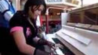 Download Asian Punker Girl Owning At Disneyland Piano Video