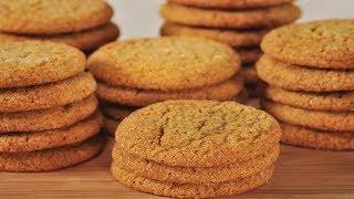 Download Ginger Cookies Recipe Demonstration - Joyofbaking Video