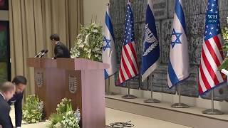 Download President Trump Gives Remarks in Israel w/Israeli President Rivlin Video