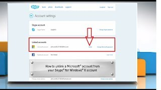 Download Unlinking Microsoft® Account from Skype® Account Video