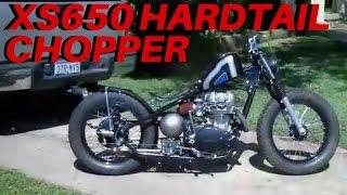 Download YAMAHA XS650 BOBBER   Custom Hardtail Chopper Video
