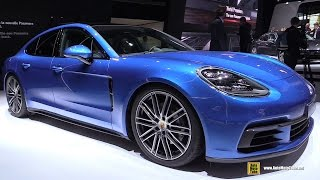 Download 2017 Porsche Panamera 4S - Exterior and Interior Walkaround - 2016 Paris Motor Show Video