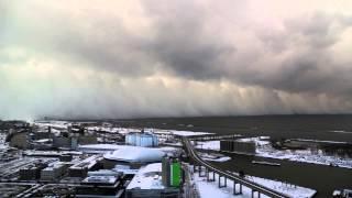 Download Time-Lapse of Buffalo Lake Effect Snow - Nov 18 2014 Video