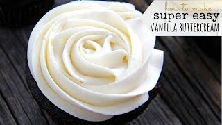 Download Vanilla Buttercream FROSTING RECIPE ♥ Perfect for Cakes & Cupcakes ♥ Tasty Cooking Video