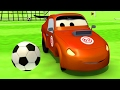 Download The Car Patrol Fire Truck and Police Car : Tyler cheats at Foot Soccer in Car City ⚽ Trucks cartoon Video