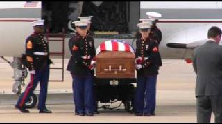 Download Marine Cpl. Jonathan Porto is Escorted Back Home-Pt.1 Video
