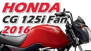 Download Nova Honda CG 125i 2016 preço e especificações - Motorede Video