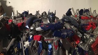 Download PrimeVsPrime's Entire Transformers Movie Universe Optimus Prime Collection Video (September 2017) Video
