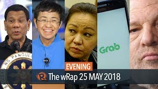 Download Duterte on women, Rappler's awards, Weinstein surrenders | Evening wRap Video
