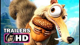 Download ICE AGE 1-5 All Scrat Movie Clips & Trailers (2002 - 2016) Video