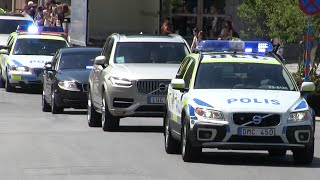 Download VIP Police Escort/Poliseskort Stockholm [SE | 6.2015] Video