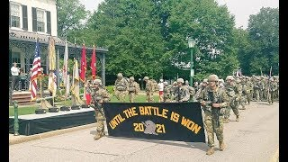 Download 2017 West Point ″March Back″ Parade Class 2021 Completes Basic Training Video