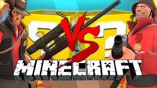 Download Minecraft: TEAM FORTRESS 2 LUCKY BLOCK CHALLENGE | Turret Destruction! Video
