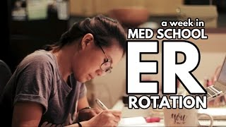 Download WHAT A WEEK IN MED SCHOOL LOOKS LIKE: Emergency Medicine Rotation (3rd year of medical school) Video