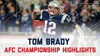 Download Tom Brady Comes Through for 384 Yards & 3 TDs! | Steelers vs. Patriots | AFC Championship Highlights Video