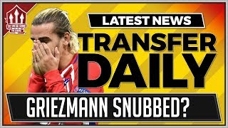 Download GRIEZMANN Snubbed By MANCHESTER UNITED For SANCHEZ! Man Utd Transfer News Video