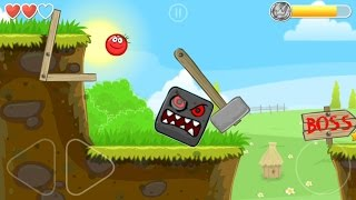 Download Playing RED BALL 4 with Tomato Ball and killing the BOSS in Volume 1 all levels played Video